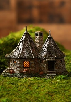 Hagrid's Hut Harry Potter Village Lighted Building