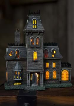 The Addams Family House Lighted Building