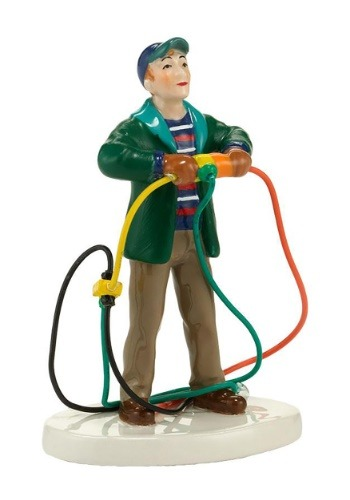 Christmas Vacation Fire it Up Dad Figurine