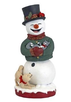 Royal Bobbles Resin Snowman Bobblehips Figure