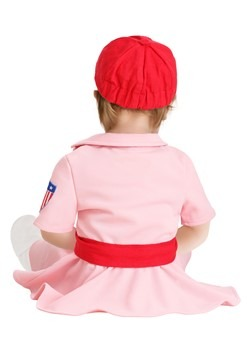 A League of Their Own Dottie Costume for Infants Back