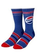 Adult Odd Sox: Pepsi Retro Knit Socks
