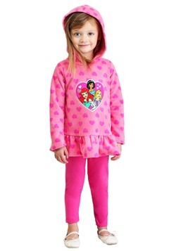 Disney Princess Heart Fleece Top & Legging Set