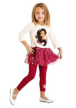 Girls Elena Tunic Top & Legging Set