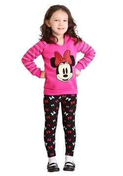 Minnie Mouse 2 Piece Bows Legging Set