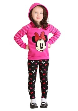 Minnie Mouse 2 Piece Bows Legging Set Alt1