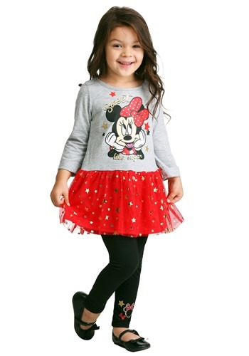 Minnie Mouse Sweet Like Sugar Tunic & Legging Set
