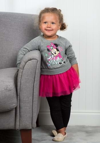 Minnie Mouse Glitter Fleece Tunic & Legging Set Update Main