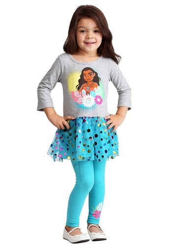 Moana Toddler's Tunic & Legging Set