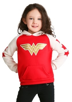 Wonder Woman Girl's Toddler Hoodie