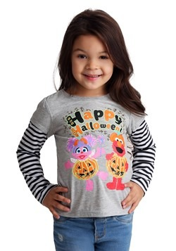 Toddler Sesame Street Happy Halloween Glow in the Dark Tee