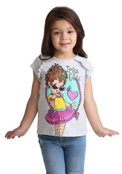 Girls Fancy Nancy Tres Chic Tee