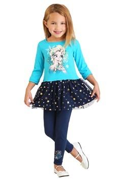 Toddler Girls Frozen Tunic & Legging Set