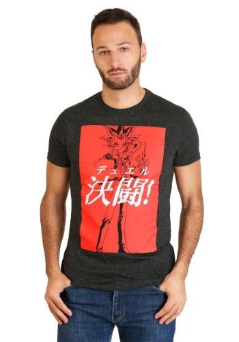 Yu-Gi-Oh! Black Splatter Men's T-Shirt