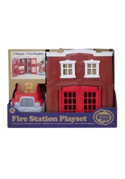 Green Toys Fire Station Playset Alt1