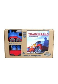 Green Toys Train and Storybook Gift Set Alt 3