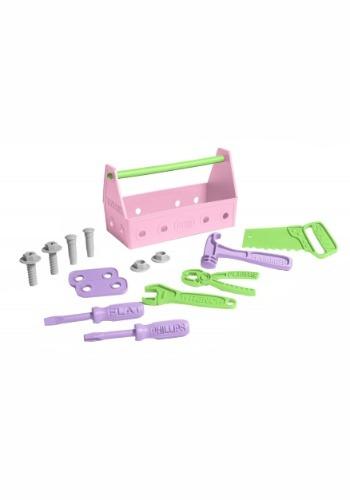 Green Toys Tool Set Pink