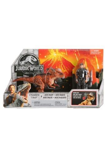 "Jurassic World Stygimoloch ""Stiggy"" & Mercenary Ac"