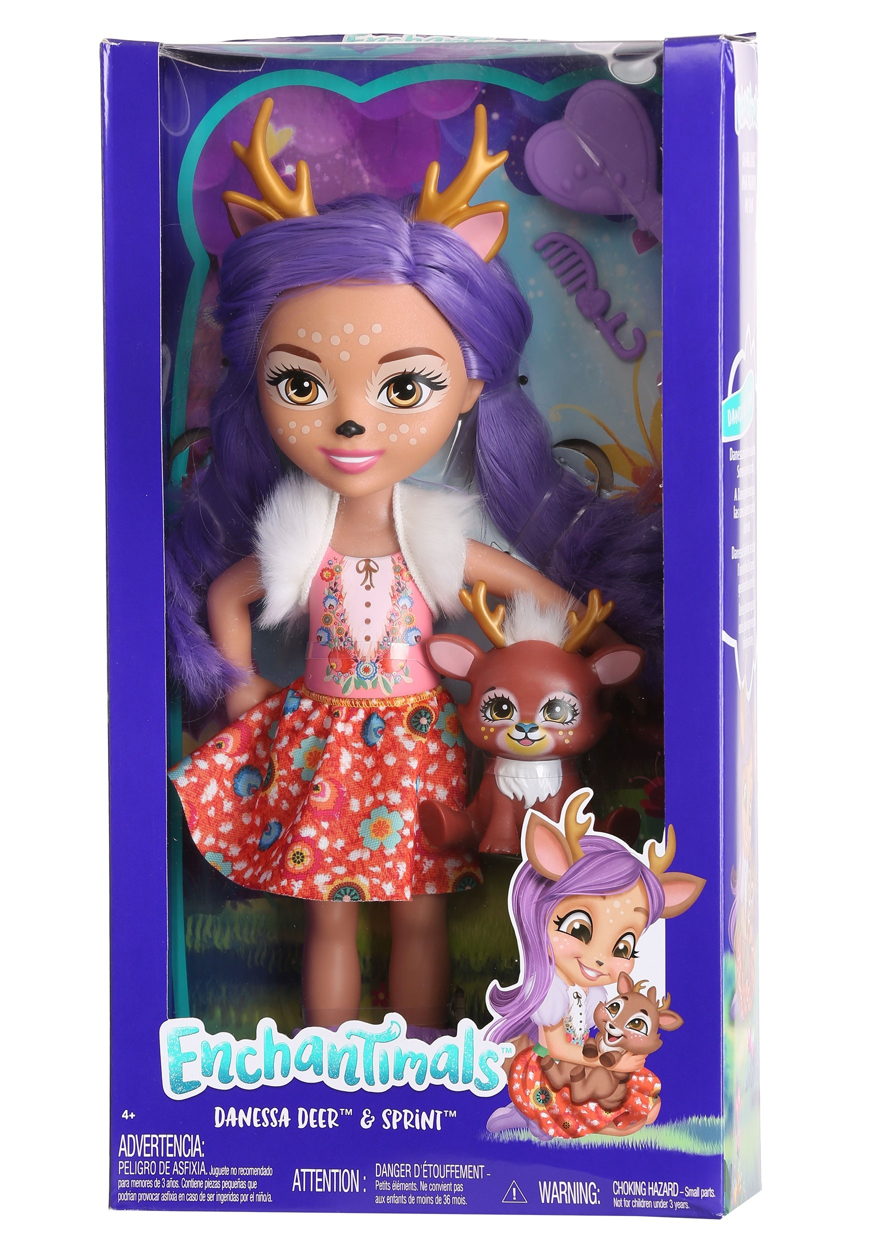 95a27a60e2e Enchantimals Danessa Deer & Sprint Dolls