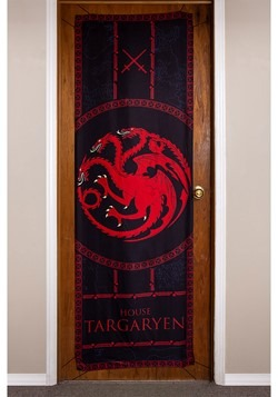 "Game of Thrones House Targaryen 26"" x 78"" Door Banner"