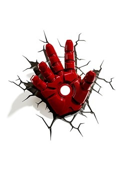 Marvel Classic Iron Man Hand 3D Light