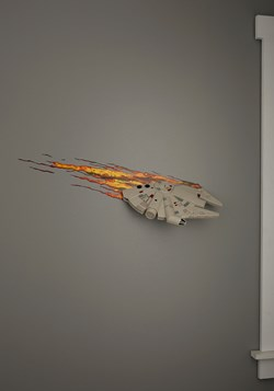 Star Wars Millennium Falcon 3D Wall Light