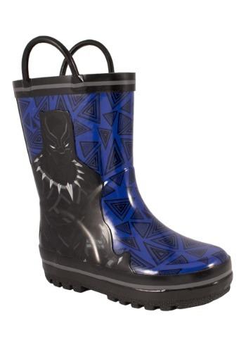 Black Panther Children's Rainboots