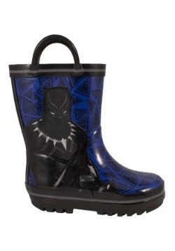 Black Panther Children's Rainboots Alt1