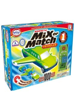 Magnetic Mix or Match Vehicles