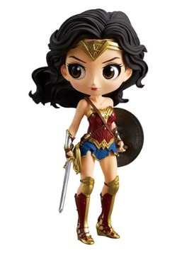 DC Justice League Q-Posket Wonder Woman Figure