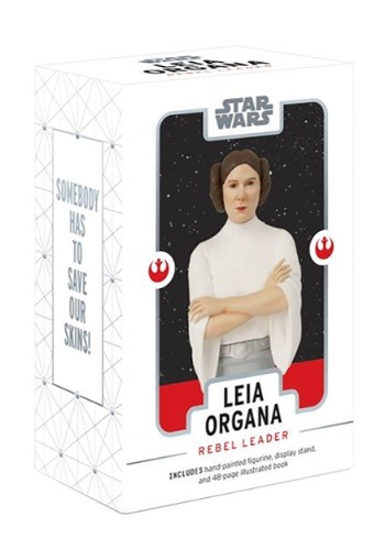Star Wars: Leia Organa- Rebel Leader Figurine and Book Set