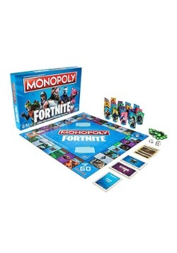 Fortnite Edition Monopoly Game3