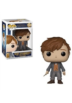 Pop! Movies Fantastic Beasts 2 Newt with Chase