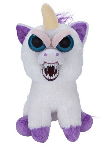 Feisty Pets Glenda Glitterpoop Unicorn Plush Main