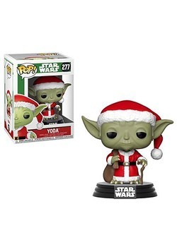 Funko Pop! Star Wars: Holiday- Santa Yoda