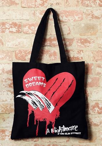 A Nightmare on Elm Street Canvas Tote Treat Bag
