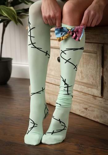 Nightmare Before Christmas Sally Over The Knee Socks