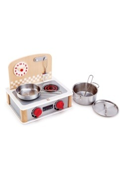 2-in-1 Kitchen & Grill Toy Set