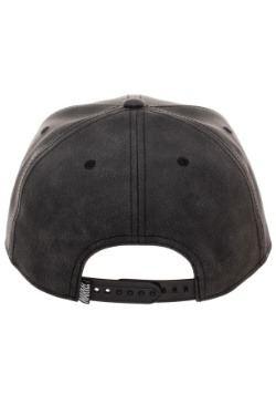Venom Distressed PU Snapback Back