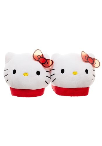 Hello Kitty Plush 3D Slipper