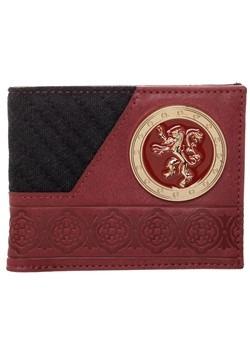 Game of Thrones House Lannister Bi-Fold Wallet Alt 2