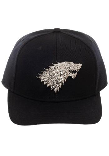 Game of Thrones House Stark Snapback w/ 3D Metal Sigil