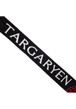 Game of Thrones House Targaryen Knit Scarf Alt1