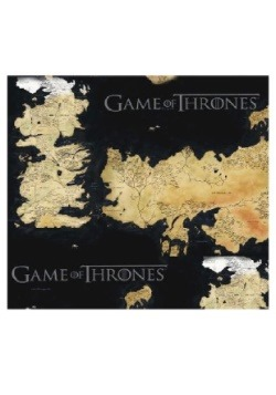 Game of Thrones Westeros and Essos Map Backpack Alt