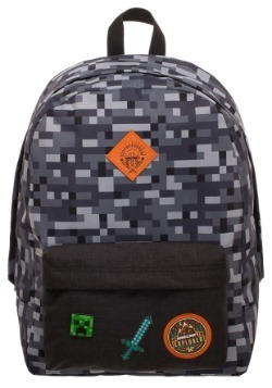 Minecraft Camo Backpack