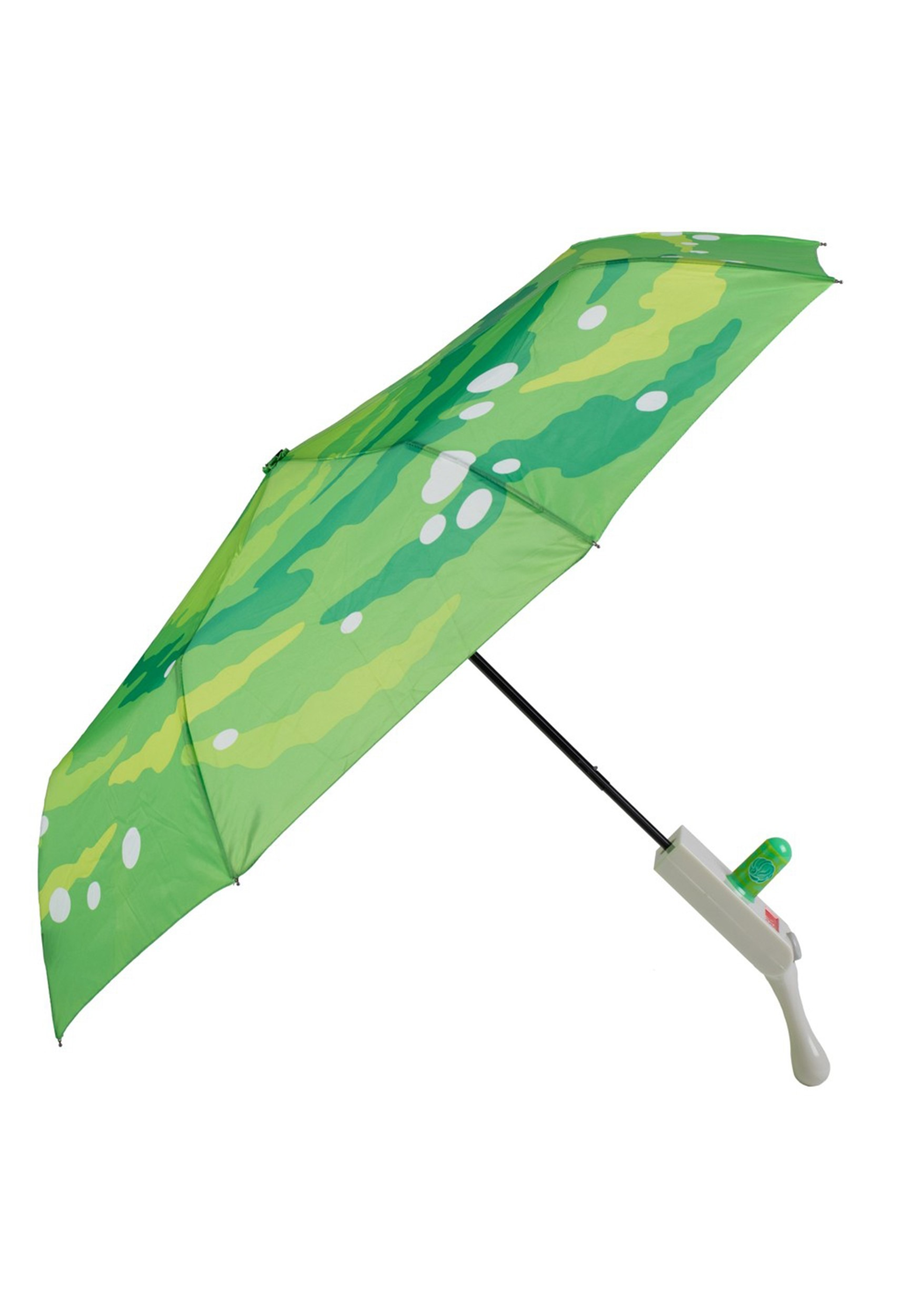 Rick and Morty Portal Gun Compact Umbrella