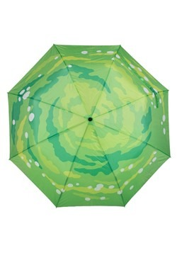 Rick and Morty Portal Gun Compact Umbrella Alt 3