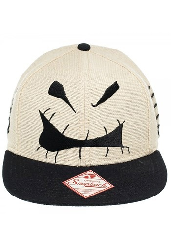 Nightmare Before Christmas Oogie Boogie Big Face Snapback