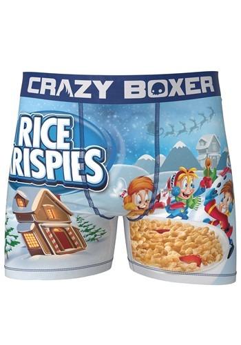 Crazy Boxers Mens Rice Krispies Boxer Briefs
