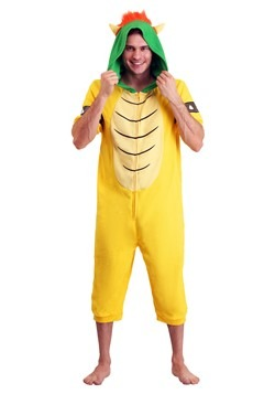 Men's Bowser Cosplay Romper